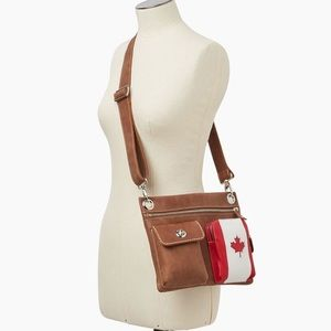 Roots tribe Leather village crossbody